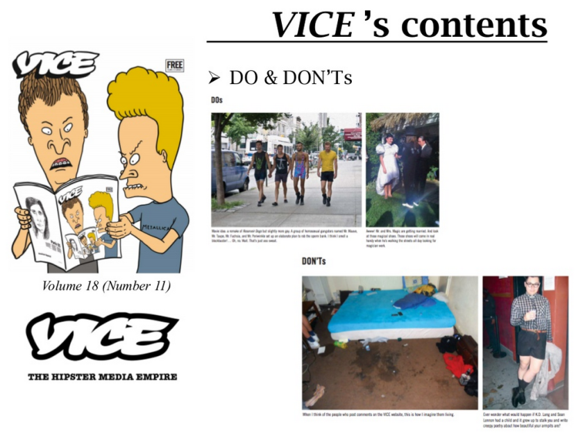 VICE's DOs & DONTs