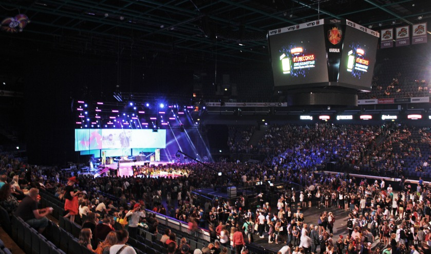 TUBECON 2015 - Hartwall Arena (Helsinki, Finland)
