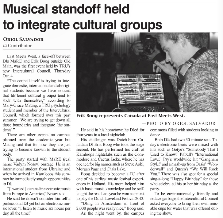 Musical standoff held to integrate cultural groups